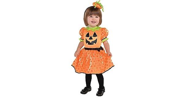 Amazon.com: Rimi Hanger Cute Baby Pumpkin Patch Girl Gown Halloween ...