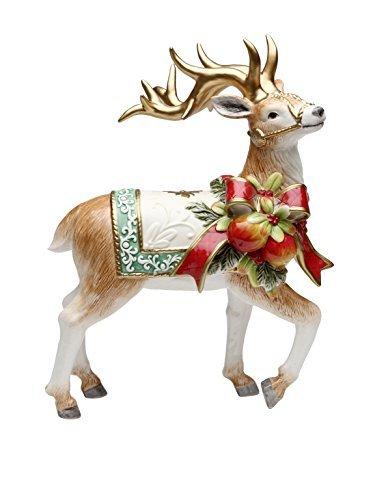 Cosmos Gifts 10538 Victorian Harvest Reindeer Figurine, -