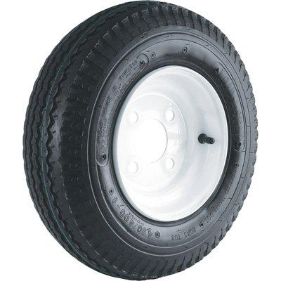 4-Hole High Speed Standard Rim Design Trailer Tire Assembly - ()