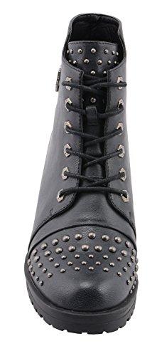 Milwaukee Performance Women's Rocker Boot (Distresed Black, 9), by Milwaukee Performance (Image #3)