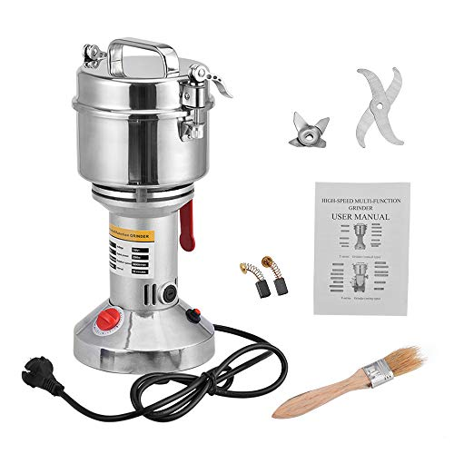 Giraffe-X 700g Electric Herb Grain Spice Grinder Cereal Mill Grinder Flour Powder Machine,Portable High Speed