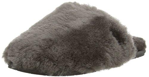 UGG Australia Fluff Clog, Mujer Zapatillas de estar por casa Gris (Grey)