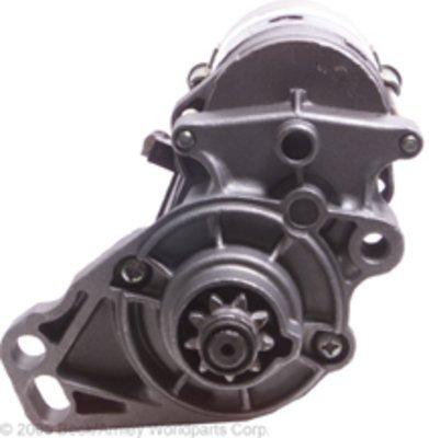 Beck Arnley Starter Motor - Beck Arnley 187-0266 Remanufactured Starter