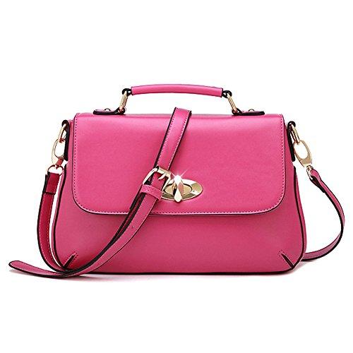 Pairs D - Bolso mochila  para mujer rosa fucsia