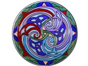 Irish Celtic Triskele - 7