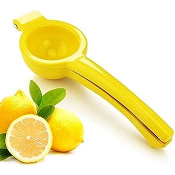 New Star Foodservice 42856 Enameled Aluminum Lemon Squeezer, Yellow