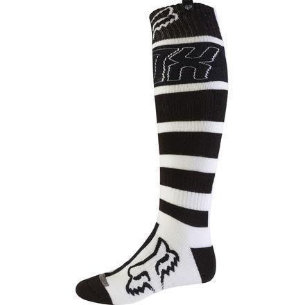 2017 Fox Racing FRI Falcon Thick Socks-Black-L (Moto Socks)