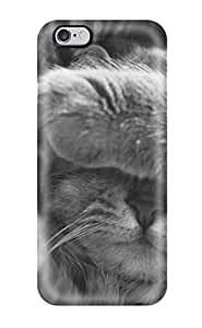 Tpu Fashionable Design Cat Sleeping Rugged Case Cover For Iphone 6 Plus New
