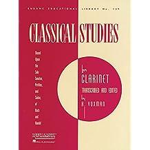 Classical Studies for Clarinet