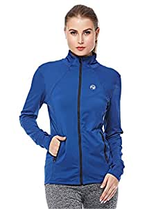Prima Dry Fit Fitness Sport Jacket for Women - Blue