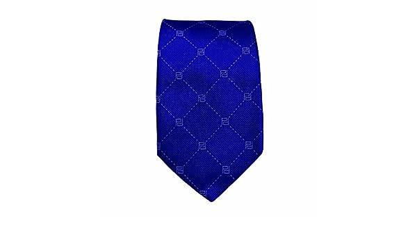 Corbata Brook colección Pertegaz, 100% seda azul, 38x24x49 cm ...