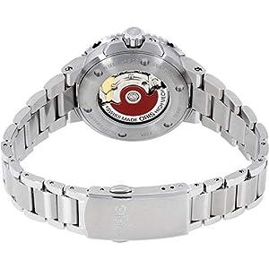 Oris Aquis Reloj de Mujer automático 37mm Correa de Acero 01 733 7731 4135-MB 3