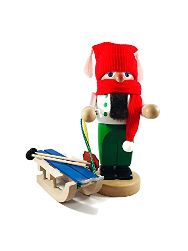 Steinbach Nutcrackers Troll Winter with Sleigh 11 Inches Tall Kurt Adler Brand New Hand Made in Germany by Steinbach (Image #1)