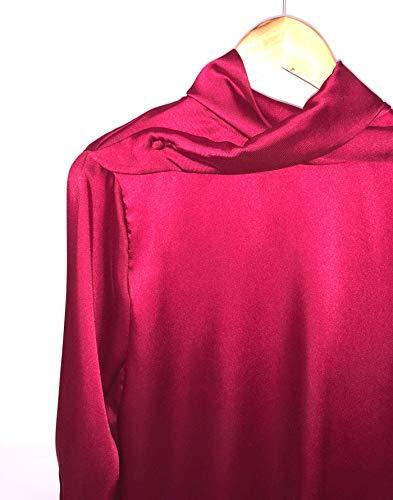 Scollo Donna T422 Sullo Intreccio Bordeaux Blusa Tolérance s XBwgUxqg