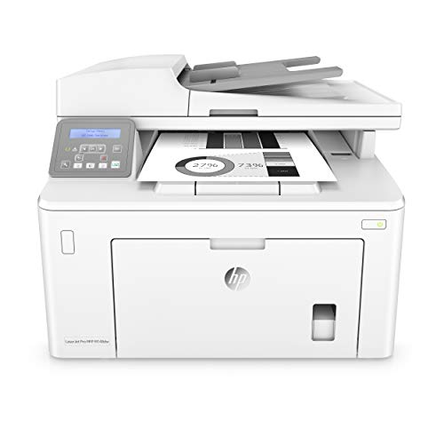 HP Laserjet Pro M148dw All-in-One Wireless Monochrome Laser Printer with Auto Two-Sided Printing, Mobile Printing & Built-in Ethernet (4PA41A) (All Laserjet One In Printer)