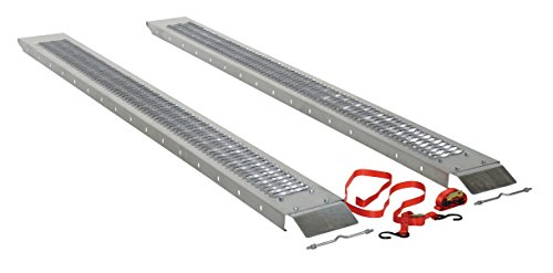 Vestil RAMP-96 Steel Pick-Up/Van Ramp, 1000 lbs Capacity,...