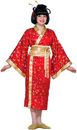 Chinese Costumes For Halloween (Forum Novelties Madame Butterfly Child Costume, Large)