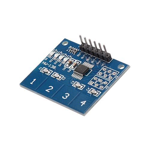 - uxcell 4-Key Capacitive Touch Sensor Pad Module TTP224B for Arduino