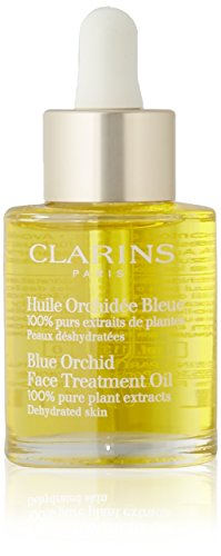Serum Oil Treatment (Clarins Blue Orchid Face Treatment Oil for Unisex, 1 Ounce)