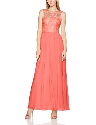 melon 1095 Mujer Laona Vestido Evening Rot Dress Para 0IwxBAqxrY
