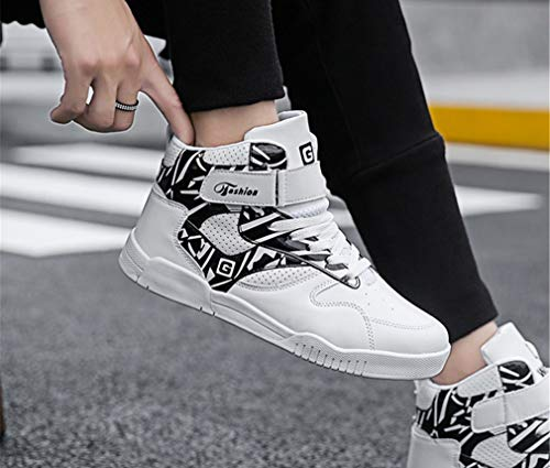 Sneaker Farbe Exing Trend Schuhe New Skateboard B Casual Schuhe Größe High Damenschuhe Top Herbst EIN Winter Deck Herren Bequeme 39 qfwq1Pp