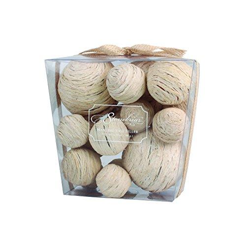 Stonebriar Straw Ball Decorative Fill