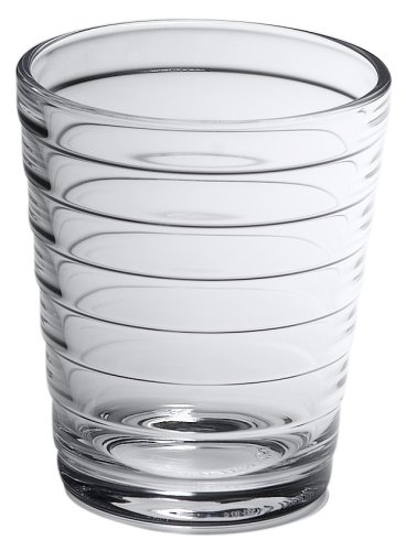 Iittala Aino Aalto 7-3/4-Ounce Clear Tumbler, Set of 2