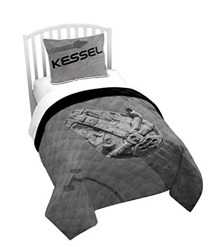 8cce05fbaf8 Jay Franco Star Wars Kessel Crew Twin Quilt   Sham Set - Super Soft Kids  Bedding