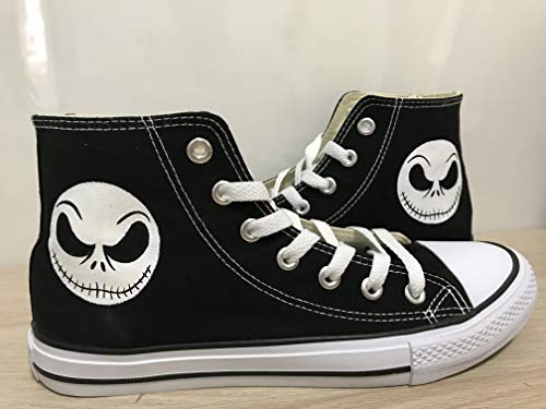 - Nightmare Before Christmas High Top Sneakers For Women Hand Painted Shoes Custom Chuck Taylors Chuck Taylor High Top FREE SHPPING