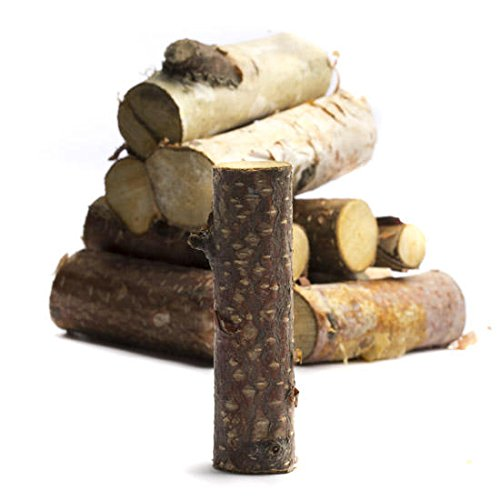Group of 24 Assorted Size Cross-cut Basswood Bagged Loose Birch Pieces for Crafting and Creating