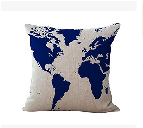Lyn Cotton Linen Square Throw Pillow Case Decorative Cushion