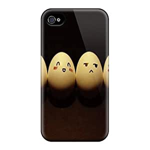 High Impact Dirt/shock Proof Case Cover For Iphone 4/4s (eggs)