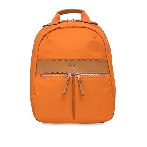 KNOMO Mayfair Nylon Mini Beauchamp Backpack 10' - Papaya