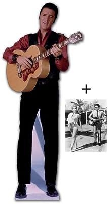 PAQUETE DEL VENTILADOR* - ELVIS cantando con guitarra - cartón STAND-IN(recorte/real/pie) - incluye 8X 25,4 cm (25X20CM) foto de - paquete #142 ventilador: Amazon.es: Hogar
