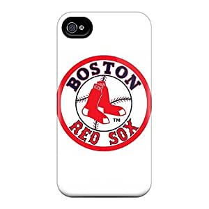 Special Design Back Boston Red Sox Phone Case Cover For Iphone 4/4s