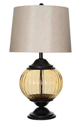 Champagne Ribbed - Catalina Lighting Eleanor 32
