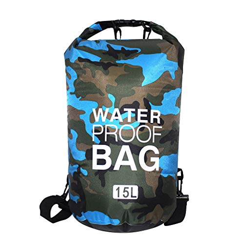 Londony ✡ Heavy Duty Vinyl Waterproof Dry Bag for Boating Kayaking Fishing Rafting Swimming Floating and Camping
