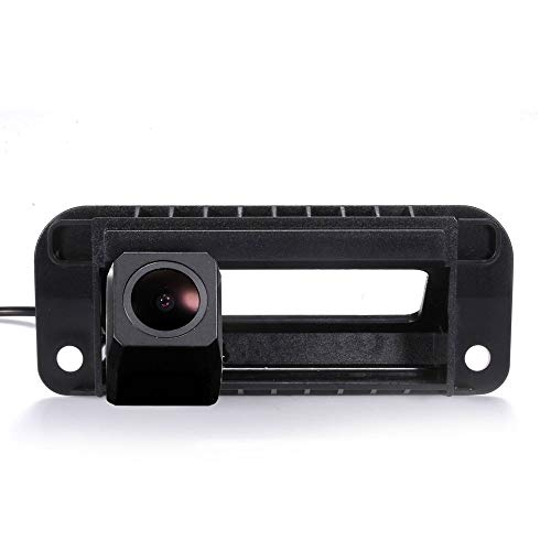 - Super HD CCD Sensor Vehicle 170 Wide Angle Night Vision Rear View Reversing Camera IP68 Trunk Handle Camera Compatible with Mercedes Benz W204 S204 C-Klasse W212 C180 C200 C260 C300 2011 2012 2013