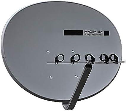 Maximum T85 Mult ifocus Sat Antena máx 5 LNB Soporte.
