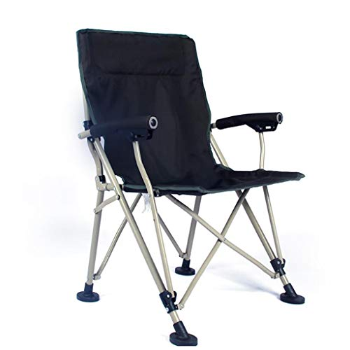 QRFDIANPatio Lounge Chair Outdoor Folding Chair ▏ Ultra Light Portable Fishing Chair ▏ Easy Portable Fishing Chair ▏ Outdoor Chair Director Chair Folding, Desk Chair