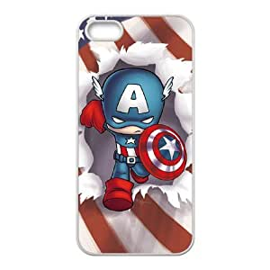 IMISSU Captain America Phone Case for Iphone 5 5g 5s