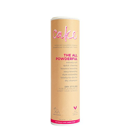 Cake Beauty the All Powderful Tinted Dry Shampoo Powder, Light - 1.7 oz ()