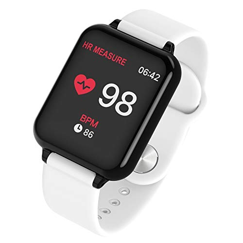 (Y77 Heart Rate Monitor Bluetooth Smart Watch Wristband Fitness Tracker Smart Watch Sport Bracelet Pedometer Compatible iOS Android Smartwatch Men Women Kids)