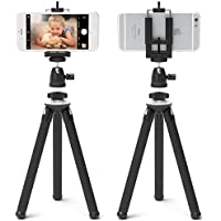 Xenvo SquidGrip iPhone Tripod - Flexible Cell Phone Tripod with Ball-Head 360 for iPhone, Samsung Galaxy & Note, Android Smartphones, and Any Mobile Phone