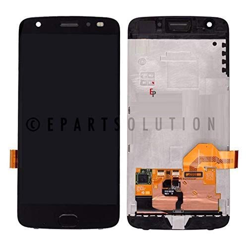 ePartSolution_Replacement Part for Motorola Moto Z2 Force XT1789 LCD Display Touch Screen Digitizer Glass + Frame Assembly USA