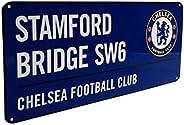 Official Chelsea FC Stamford Bridge Blue Sign