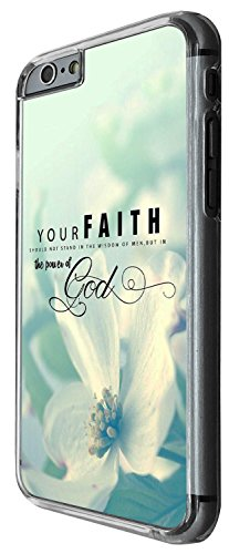 1248 - Cool Fun Trendy cute faith god wisdom sky freedom quote inspirational kwaii Design iphone 4 4S Coque Fashion Trend Case Coque Protection Cover plastique et métal - Clear