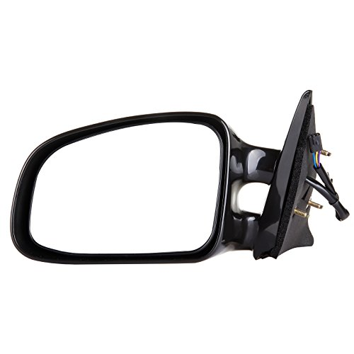 SCITOO Door Mirrors, fit Pontiac Exterior Accessories Mirrors fit 1999-2003 Pontiac Grand Am Power Controlling Non-telesccoping Non-folding Features (Driver Side)
