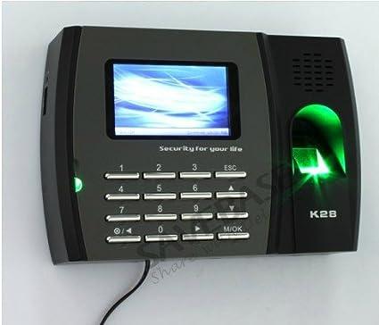 ZKSoftware sistema de asistencia reloj de tiempo biométrico de huellas digitales + TCP/IP +