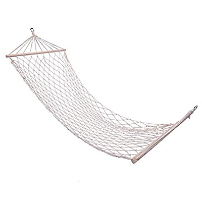 Onecloud Sky Chair, Deluxe Hanging Hammock Air Chair Swing Seat with Pillow, Drink Holder, Solid Wood Weather Resistant for Indoor/Outdoor Yard Garden Tree Patio Porch, 250 LBS (Blue): Industrial & Scientific